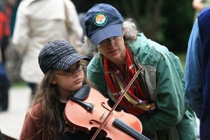 Jam Session 6 - Young Girl w Fiddle