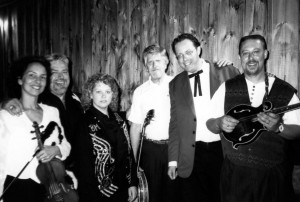 1975 Barons of Bluegrass performing with Walter Hensley at South Paris, Maine with Vernon McIntyre