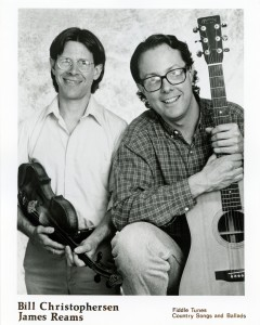 1989 Early promo shot with Bill Christophersen