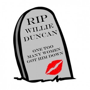 cruel willie gravestone