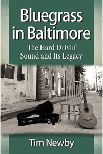 Bluegrass in Baltimore Book Jacket