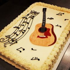 Happy Birthday Sean Guitar Cakes